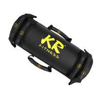 10kg Power Bag Gewichtstraining Sandsack Professioneller Sandsack Fitness Power Bag Kit für funktionelles Training Schwarz