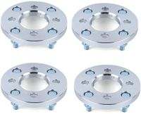 4 Stück Spurverbreiterung 15MM   4x100-4x114.3 PCD Wheel Spacer Adapter   RadMuttern: M12x1,5