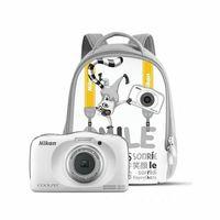Nikon COOLPIX W150 Kit, 13,2 MP, 4160 x 3120 Pixel, CMOS, 3x, Full HD, Weiß