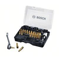 Bosch 27-teiliges Schrauberbit- & Ratschen-Set, PH | PZ | T | Hex | S | Nüsse