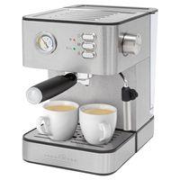 ProfiCook Espressoautomat PC-ES 1209 Edelstahlgehäuse, 20 bar