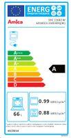 Amica SHC11642W Elektroherd SHC 11642 W