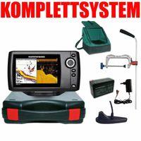 Humminbird Helix 5 DI G2 Down Imaging Echolot Portabel Profi Edition Plus – Komplettsystem