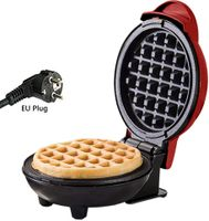 Mini Waffeleisen, elektrische Antihaft-Waffelmaschine für einzelne Waffeln, Pfannkuchen, Rösti, schnelles Frühstück, Mittagessen oder Snacks (Mini)