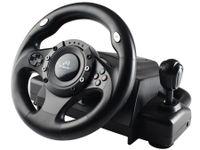 Tracer Drifter - Lenkrad + Pedale - PC,Playstation 2,Playstation 3 - Digital - Verkabelt - USB 2.0 - Tracer