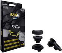 GAIMX RAISX CORE PS5 PS4 Stick Control Aim-Hilfe / Zielhilfe - Aim-optimierer - Playstation 4 & 5 Zubehör- Thumbstick-Verlängerung in DREI verschiedenen Höhen (Schwarz)