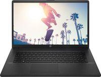 HP 17-cn0216ng 43,9 cm (17,3 Zoll) HD+ Notebook, Intel Pentium Gold 7505, 8 GB RAM, 512 GB SSD, Intel UHD Graphics, Windows 10 Home, QWERTZ - Schwarz