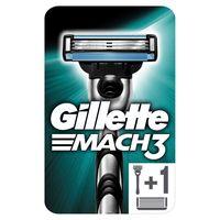 Gillette Mach3 Rasierer für Männer, 1er Pack