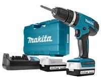 Makita HP347DWEX3, 1 cm, 1 cm, 2,5 cm, 30 Nm, 15 Nm, 6000 BPM