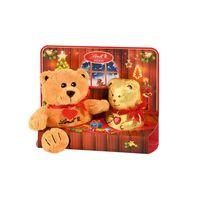Lindt Teddy mit Plüschfigurschokoladen Lieblinge der Kinder 100g