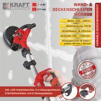 Kraft Werkzeuge Wand- & Deckenschleifer WDS999
