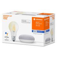 LEDVANCE Bundle Google Home chalk Mini SMART+ E27 Filament STARTER KIT SMART HOME