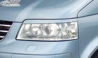 RDX SCHEINWERFERBLENDEN BÖSER BLICK für VW T5 BUS MULTIVAN TRANSPORTER -9/09