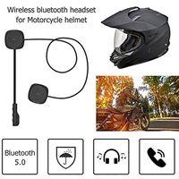 Bluetooth 5.0 Motorradhelm-Headset Drahtloses Freisprech-Stereo-Headset-Helm-Headset