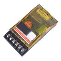 120W 2 Wege Frequenzteiler Lautsprecher Audio Hi-Fi Crossover Filter Frequenzweiche, Impedanz: 2/4/6Ω