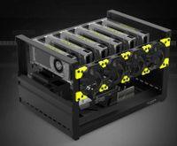 Veddha T2 Mining Rig 6 GPU - Open Air Frame - Case
