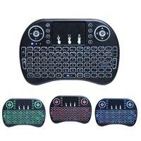 Mini-Tastatur mit Hintergrundbeleuchtung, 2,4-GHz-Minitastatur mit Touchpad-Mauskombination, wiederaufladbarer Controller