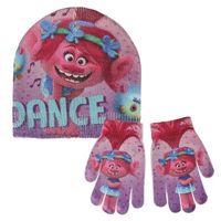 Mütze und Handschuhe Trolls 249