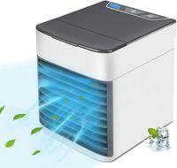 ZREE® Mini Aircooler Luftkühler Tischventilator Klimaanlage Klimagerät Tragbar Ventilator für Zuhause Büro Luftbefeuchter Luftreiniger