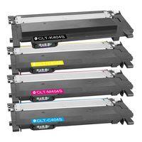 4er Set für Samsung CLT 404  XXL Toner Multipack kompatibel K404S C404S M404S Y404S für xpress C430 C430W C480 C480FN C480FW Drucker