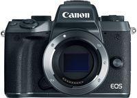 Canon EOS M5 + EF-M 15-45mm IS STM, 24,2 MP, 6000 x 4000 Pixel, CMOS, Full HD, Touchscreen, Schwarz