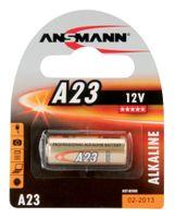 ANSMANN A23 Alkaline Batterie (12V) für u.a. Garagentoröffner.