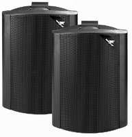 MONACOR EUL-80/SW ELA-Lautsprecherbox 30 W Schwarz 1 Paar - Lautsprecher - 20 - Lautsprecher - 20 KH