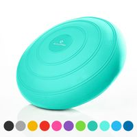 #DoYourFitness x World Fitness Ballsitzkissen »Blowup« Ø 33 cm inkl. Pumpe, geeignet als Balancekissen für Rückentraining und Sitzunterlage im Büro