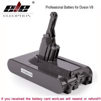 SV10 4000mAh 21,6V Batterie für Dyson V8 Absolutbatterie / Flauschig / Tier / Li-Ionen Staubsauger Wiederaufladbare Batterie & 3,5mAh