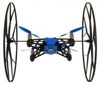 Parrot Rolling Spider Mini Quadrocopter für Android- Apple Smartphones und Tablets blau