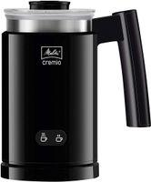 Melitta CREMIO 1014-02 Milchschäumer   Für kalte und warme Milch   Antihaftbeschichteter Behälter   Perfekter, feinporiger Milchschaum   Schwarz
