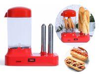 LIVOO Hot-Dog-Maschine Hot Dogs selber machen 340 Watt DOC238