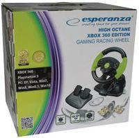 Esperanza Lenkrad und Pedal Controller PC XBOX 360 Playstation 3 schwarz EG104