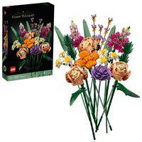 LEGO 10280 Creator Expert Blumenstrauß, künstliche Blumen, Botanik Kollektion, Set für Erwachsene