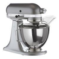 Kitchen Aid 5KSM95PSECU Küchenmaschine Silber Ganzmetallgehäuse Robust