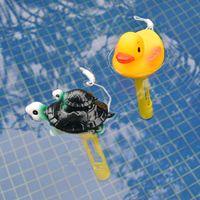 2pcs Pool Thermometer Wassertemperatur Messgeräte mit Schnur