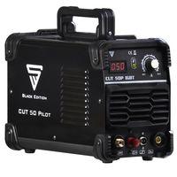 STAHLWERK CUT 50 Pilot IGBT Plasmaschneider mit 50 Ampere Pilotzündung bis 14 mm Schneidleistung