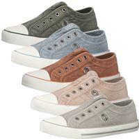 s.Oliver Damen Sneaker Slipper Halbschuhe 5-24635-26, Größe:39 EU, Farbe:Grau