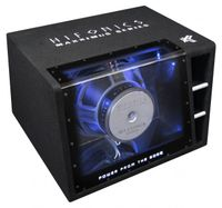 Hifonics MXZ12BP Single Bandpass Subwoofer Kiste 30 cm 2000 Watt max. 4 + 4 Ohm
