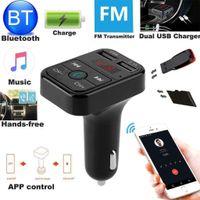 1 Stück Auto Bluetooth FM Transmitter , 1 Stück Handbuch