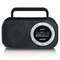 Lenco PR-2700 Retro FM Radio RDS LCD-Display USB