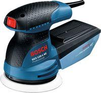 Bosch GEX 125-1 AE Professional, Schwingschleifer, Schwarz, Blau, Rot, Velcro, 7500 RPM, 12000 RPM, 15000 OPM