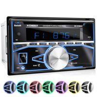 XOMAX XM-2CDB622 2DIN Autoradio mit USB, CD und Bluetooth