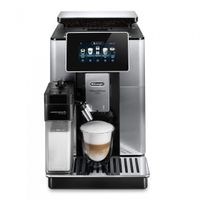 Delonghi ECAM 610.75. Vollautomatische Espressomaschine, Kunststoffgehäuse, Touchscreen, Integriertes Mahlwerk, Milchaufschäumer, Wasserfilter, Smartphone-Steuerung