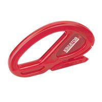Kreator Tapetenschneider Tapetenschere SK7 Stahlklinge Messergröße 6 x 10 cm Rot