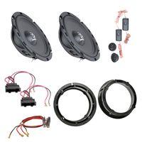 Ground Zero GZIC 650FX Lautsprecher Einbauset für Passat 3B 3BG Beetle vorne