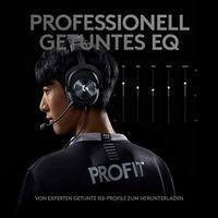 Logitech G PRO X Gaming Headset, 981-000818, Schwarz