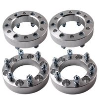 4 PCs of 4x4 Wheel Spacer 6 Studs 6x5.5 inch / 6x139.7mm PCD 38mm Thickness