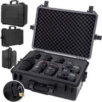 KESSER®  Fotokoffer Kamerakoffer Transportkoffer Schutzkoffer Kamera Schaumstoff, Größe:L