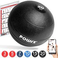 Slamball I Medizinball 3 - 20 kg I Slam Ball versch. Farben Gewicht: 20 kg